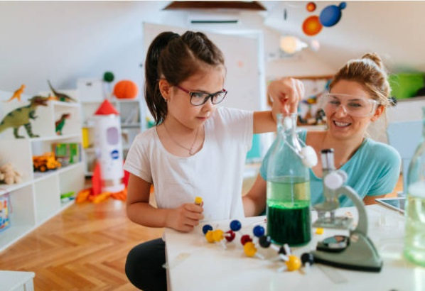 how to teach kids science